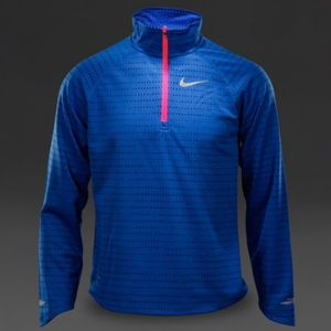 Nike girl's Element Dry fit half Zip
